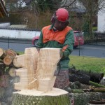Baumsteiger als Künstler